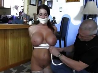 Goldie Bound And Gagged