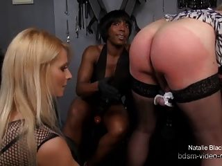 3 Ladies Destroy A Sissy