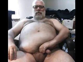 Papa Masturbates And Cums