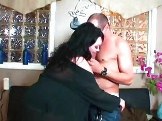 BBW Girlfriend Gets Banged On Sofa From Behin Sex
