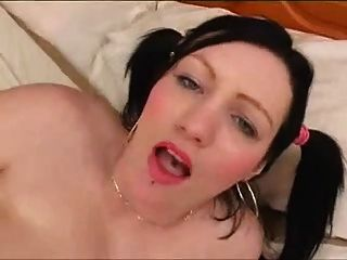Blackhaired Bbw With Huge Udders.