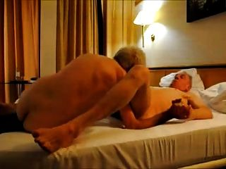 Hot Grandpas Riming And Sucking