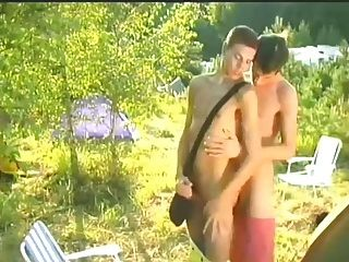 Camping Sex 2 Boys Have Fun