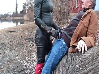 Trans Sucks Big Cock