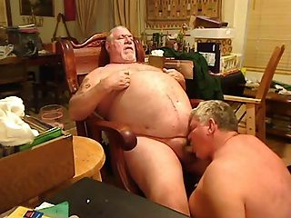 Fat Daddy Sucking