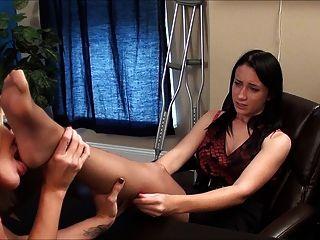 Rt pantyhose feet fetish, hot milf in bar