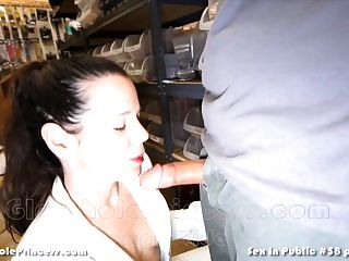 Sex In Public #58 Gloryhole Princess