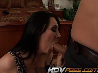 Milf Rayveness Ripped Doggystyle And Jizzed On Tits