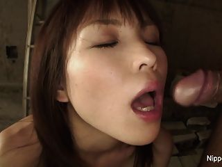 Innocent Japanese Girl Gets Her First Taste Of Dick