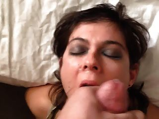 Giant Load For Hot Amateur Skank