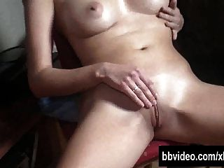Blonde German Wench Masturbating