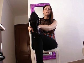 High Heels Worship Femdom Pov Joi - Domina High Heels Lecken
