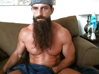 Long Bearded Muscle Guy Solo #3