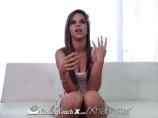 Castingcouch-x - Amateur Brooke Lynn Santos Deepthroats