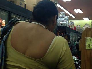 Sexy Marwadi Aunty Bra Strip