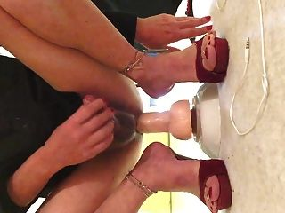Cum On My Feet! Must See,comment My Profile For Pass!