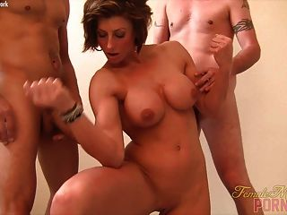 Mistress Amazon Get Her Muscles Fucked
