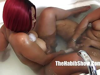 First Time Lesbo Thickredxxx And Golden Chiraq Freaks P2