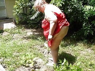 Bent Over In The Garden