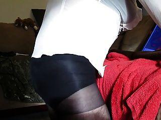 Crossdresser Pantyhose Fuck