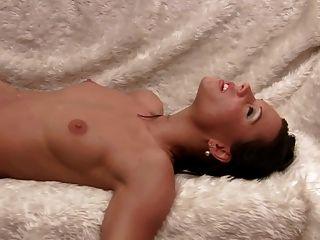 German Gymnastin Waxing Her Nice Body