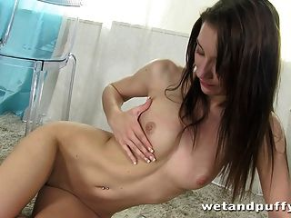 Breathtaking Orgasm For Czech Teen