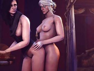 Ciri Does Yennefer