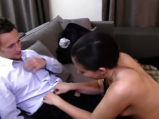 Two pigtailed babes toying each other 4