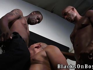 Black Men Sharing A Bald Dude