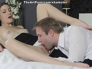 Hot Chick Girl Zejinka Squeezes Dick In The Pussy Slit