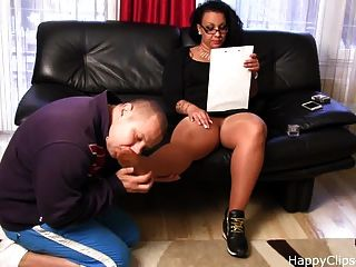 Foot Slave Training