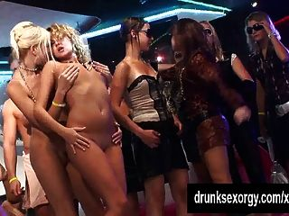Naked Bitches Dance And Fuck At Sex Party