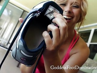 Brianna Post Workout Sock Foot Sniffing Trailer