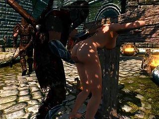 Perils of escaped skyrim slavegirl 20 edited - 3 part 6