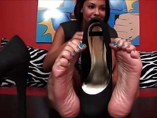 Hot Feet & Hot Shoes Tease