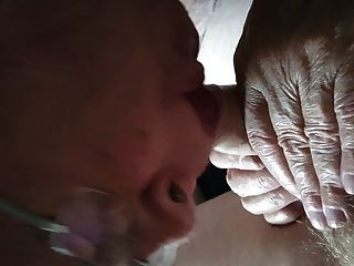 Grandpa Sucks A Young Cock