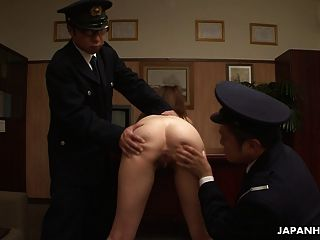 Asian Naked Prisoner Goes Through A Clockwork Orange Treatme