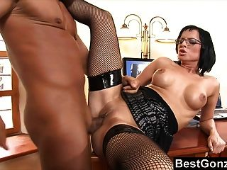 Secretary Gets Rewarded For Her Hard Work