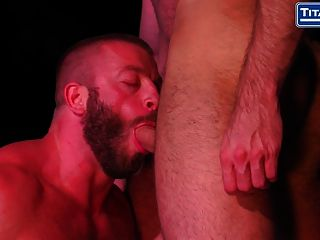 Hairy stud Gay muscle
