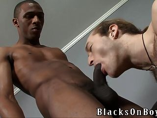 Torch Takes Every Inch Of A Black Cock Like A Pro