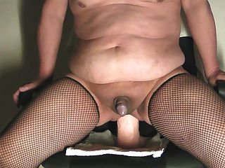 Riding Monster Dildo Addiction 72 On The Chair Jan-29-2015