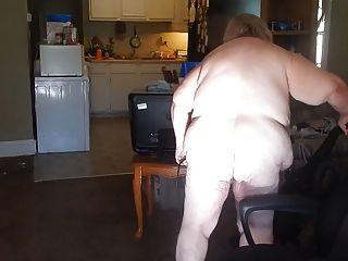 Cleaning With Frunt Door Open