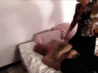 Loser Beatdown And Ballbusting And Foot Worship
