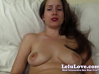 Lelu Love-caught Her Masturbating Cheating Virtual Sex