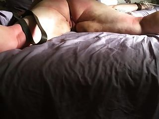 Twenty strapped on pussy of my slave 8