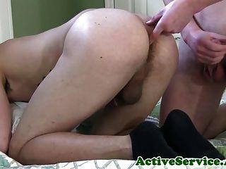 Military Stud Assfucking Tight Butt