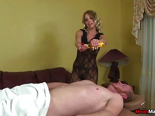 Hot Blonde Sex Bomb Jerking