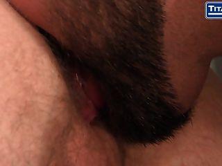 Hairy Jock Deep Throats A Fat Dick