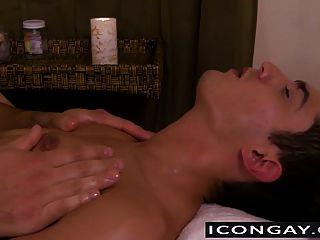 Massage Makeout Turns Into Hot Anal Fuck