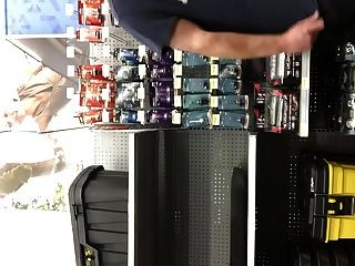 Flashing Dick In Walmart!